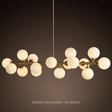 <b>Modern</b> LED Chandelier Light Fitting 16 LED <b>Lights Bubble</b> ...
