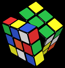 rubiks cube solved in pb