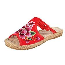 national students slippers female summer fashion seaside flowers flip flops beach shoes luxury women designers