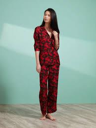 <b>Rose Silk</b> Pyjama Set