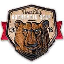 BearCity 3 Bear Patch: Clothing - Amazon.com