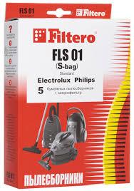 <b>Мешок</b>-пылесборник <b>Filtero</b> FLS 01 (S-bag) Standard, для ...