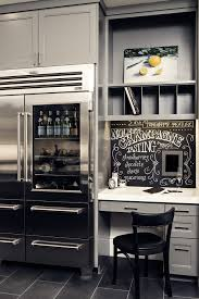 baroque sub zero refrigerator method san francisco transitional home office image ideas with alcove art built alcove office