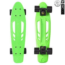 <b>Скейтборд Y-SCOO Skateboard Fishbone</b> 22 дюйма - Green-black ...