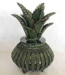 Mexican <b>Handcrafted Pottery Pineapple</b> from Morelia in 2019 ...