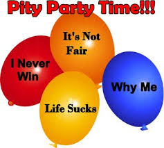 Image result for you're invited pity party