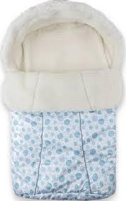 <b>Конверт Idea Kids BaBy</b> 75 x 45, белый мех, зима, Голубой купить ...