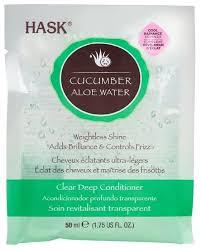 <b>Hask</b> Cucumber Aloe <b>Water Маска</b> для блеска волос с экстрактом ...