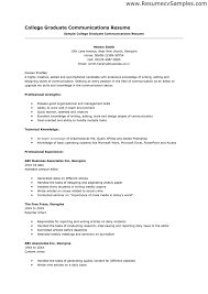resume objective for new college graduate cipanewsletter school resume sample resume sample for college graduate student