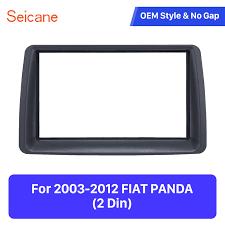 Seicane Double Din <b>Car Stereo Radio Fascia</b> Panel for 2003 2012 ...