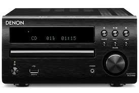 <b>CD</b>-<b>ресивер Denon</b> RCD-M40 black