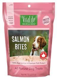 VitaLife Freeze Dried Treats - <b>Salmon Bites</b>