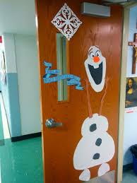 brown christmas classroom door decoration love