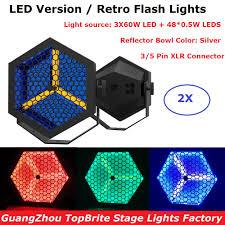 2XLot LED Retro Flash <b>Lights</b> Professional <b>Stage Lighting</b> Projector ...