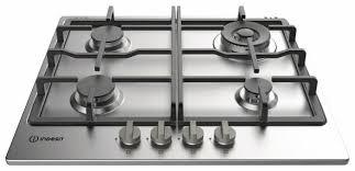 <b>Газовая варочная панель Indesit</b> THP 641 W/IX — купить по ...