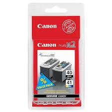 "<b>Картридж</b> ""<b>Canon</b>. <b>PG</b>-<b>40</b>"", чёрный/CL-41, цветной <b>MultiPack</b> ..."