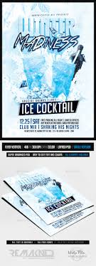 winter madness drinks party flyer template psd by remakned winter madness drinks party flyer template psd clubs parties events