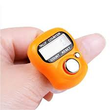 fineser <b>2Pcs Digital</b> LCD Electronic Hand <b>Finger</b> Tally Counter for ...