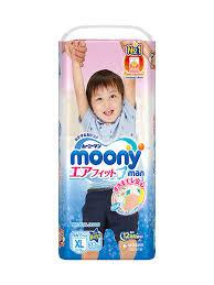 <b>Трусики</b> MOONY для мальчиков <b>XL</b> (12-22 кг) 38 шт NEW MOONY ...