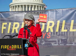 <b>Fire</b> Drill Fridays for the Climate with <b>Jane</b> Fonda - Greenpeace USA