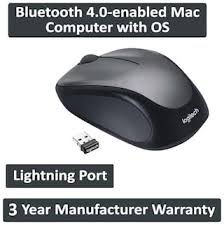 Buy <b>Logitech M235 Wireless Mouse</b> ( Black & Grey ) Online at Low ...