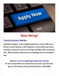 cutchins programs for children and families inc linkedin do you have a passion for helping children do you want to work a team as passionate as you are we have an open position for a family outreach worker