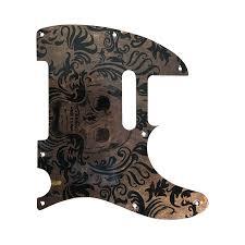 <b>Vintage Skull</b> Mars Pickguard | Mattia Franchin Guitars