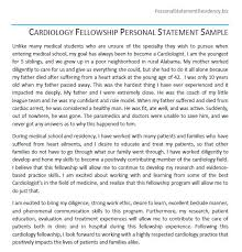 Writing Your Personal Statement for Residency personal statement writers for residency