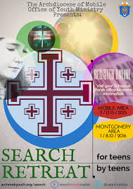 search retreats archdiocese of mobile office of youth ministry