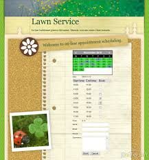 booking system for lawn service booking system for user reviews