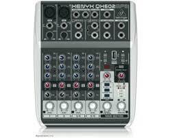Купить <b>BEHRINGER QX602MP3</b> - Микшерный <b>пульт</b> Беринджер в ...