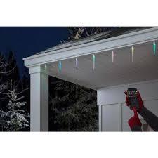 Color Changing - <b>Remote Control</b> - <b>Icicle</b> Lights - Christmas Lights ...