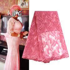 Elegant Burgundy wine <b>wholesale</b> bridal <b>nigerian lace</b> fabrics pink ...