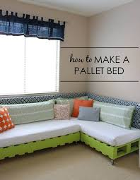 view in gallery pallet bed bedroomeasy eye upcycled pallet furniture ideas