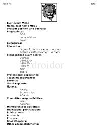 sample resume resume structure cv sample good examples of good sample long cv write curriculum vitae volumetrics co sample curriculum vitae for higher education sample curriculum