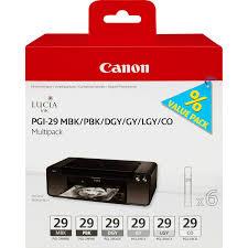 Купить <b>Набор картриджей CANON PGI-29</b> MBK многоцветный, 6 ...