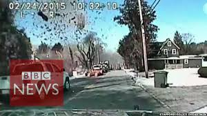 Gas explosion: Moment US house is destroyed - BBC News - YouTube