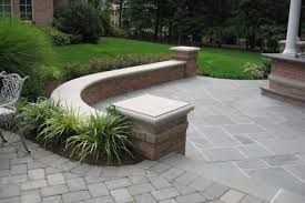 patio outdoor stone kitchen bar: stone patio bar natural stone patio amp wall design for pools landscaping nj