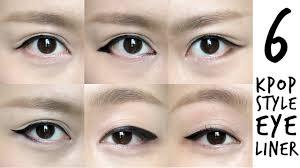k pop inspired korean style eyeliner tutorial
