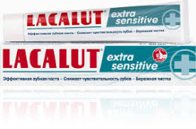 LACALUT - <b>зубная паста</b> LACALUT <b>extra sensitive</b> | Взрослые ...