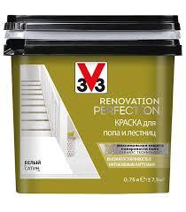 <b>Краска</b> водно-дисперсионная <b>V33 Renovation</b> Perfection для пола ...