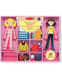 Paper & Magnetic Dolls: Toys & Games - Amazon.ca
