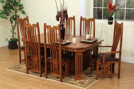 fascinating craftsman living room chairs furniture: brown wood dining table by paula deen furniture