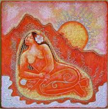 Resultado de imagen de carpas rojas menstruacion energia femenina