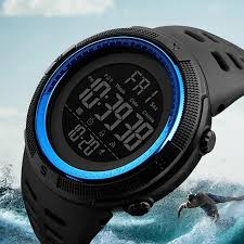 Skmei <b>Luxury Brand Mens</b> Sports Watches Dive 50m Digital LED ...