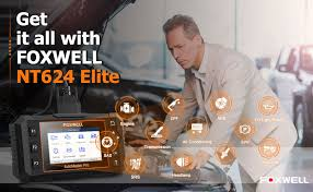 <b>Foxwell</b> NT624 Elite <b>OBD2</b> EOBD Automotive Scanner Full System ...
