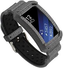 For Samsung Gear Fit 2 SM-R360 <b>Silicone Replacement</b> Wrist <b>Band</b> ...