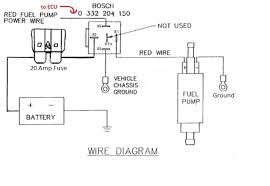 basic walbro 255l wiring diagram question ls1tech i did a search and found this wiring diagram on another website for a different fuel pump is this correct for the inline walbro 255l and will the bosch