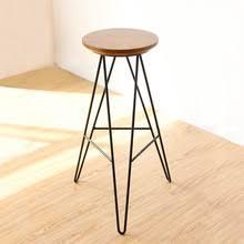 <b>Барный стул</b> Простой Современный твердый <b>деревянный</b> ...