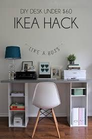 1000 desk ideas on pinterest wood computer desk desks and reception desks amazing diy home office desk 2 black